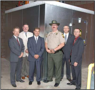 Pictured in the photo from left to right are: David Graham – Chief, OH Division of Wildlife; Tim McKelvey – Secretary, SCI Central OH Chapter; Mike Wehinger – Treasurer, SCI Central OH Chapter; Ken Fitz – Supervisor, OH Division of Wildlife; Sean Logan – Director, OH Department of Natural Resources; Dan Huss – District 1 Manager, OH Division of Wildlife.